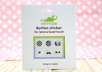 Wholesale Button Sticker For iPhone iPad iTouch Design in Japan Popular High Quality Protect Stickers P L0O
