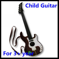 acustic guitar - X Drop shipping Coffee Acustic Guitar Toy Musical Instrument For Children Kids Boys Girl Retail