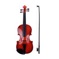 beginner violins - Children Kids Beginners Instrument Adjust String Simulation Violin Musical Toy