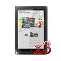 "Cheap Wholesale-P16 3xLCD Guard Shield Screen Protector For Barnes & Noble Nook HD+ 9"" Tablet"