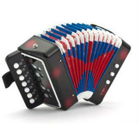 baby classical music - Children accordion organ educational baby instrument toys classical music early red black blue color