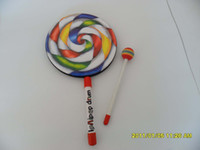Wholesale cm Child Percusses Playing Aids Darnings Lollipop Drum Educational Toys Musical Instruments