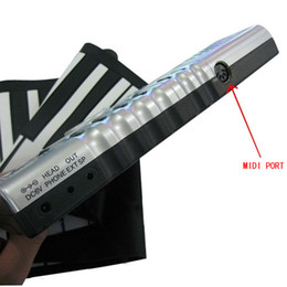 Wholesale Roll Up Synthesizer Piano with Responsive Keys Cute amp High Quality