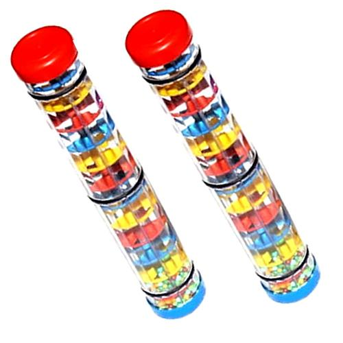 Wholesale-Children Baby Early Learning Mini Rainmaker Tube Shaker Music Sensory Auditory Instrument Toy L Best Selling Toy Products