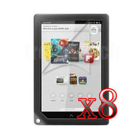 "Cheap Wholesale-P18 8xLCD Guard Shield Screen Protector For Barnes & Noble Nook HD+ 9"" Tablet"