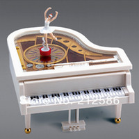 ballet music boxes - kids classical piano toy with ballet dancer girl music box toy for girls with colorbox creative birthday gift