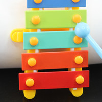 best trailers - rainbow baby s early education musical toys trailer scales xylophone children s hand knocking piano best toy for