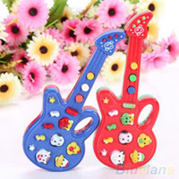 baby rhymes - Electronic Guitar Toy Nursery Rhyme Music Children Baby Kids Toy Gift SFY