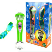 applause toys - Singing Karaoke Microphone Toy amp Sunglasses Whistle Applause Button Kids Toy