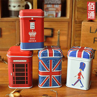 bamboo flags - Mini cylinder toothpicks extinguishers with word flag Metal crafts kinds mix colors
