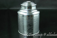 airtight canisters - g Tea Capacity Super airtight thick tin material Tin Canister Airtight Storage Jars Botes