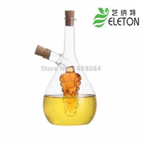 glass bottle olive oil - Kitchen Supplies Eco friendly Glass Olive Spice Tool Cooking Tools Oil And Vinegar Oiler Bottle Stopper Glass Jar Galheteiro