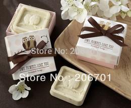 Wholesale Boxes Shape Organic Soap Fall In Love Wedding Favors Creative Gifts Mini Bath Soap