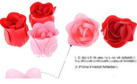 bath and body gift sets - set sets High quality mix colors heart shaped rose Soap flower for romantic bath and Wedding gift