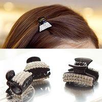 accessories hair gripper - Hot Elegant Women s Rhinestone Hair Pin Hair Clip Hair Claw Fashion Gripper Small Claws Hair Accessories