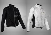 Wholesale Tour de France Cycling Coat Wind Coat Rain Coat Long Sleeve Raincoat Sportwear colors Black White Green yellow