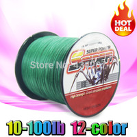 Wholesale m LB PE Braided weave Fishing Line