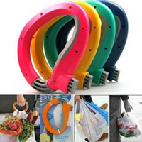 bag handle grip - Home One Trip Grips for Shopping Grocery Bag Holder Handle hand folding Foldable bag Carrier Lock