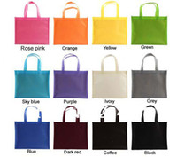 bags shipping companies - W20xH25 xD13cm custom made non woven reusable shopping promotional bag with your customized company logo