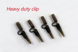 Wholesale-Carp fishing terminal tackle fishing heavy duty lead clip for carp fishing accessories 100pcs