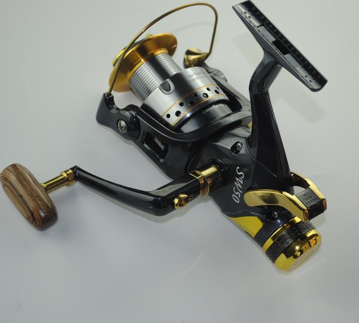 Wholesale-High speed 6000 size carp reels baitrunner spinning fishing reels 9+1BB