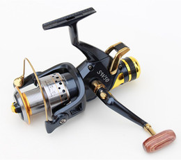 Wholesale-Metal Fishing Reels 5000 SW Spinning Reel 9+1 BB 5.2:1 Large Coil Crap Saltwater Quality SW50