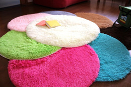 Wholesale Carpet Round Shaggy Polyester Diameter cm cm cm cm cm X4 cm Super Soft Floor Rug Mat for Prayer