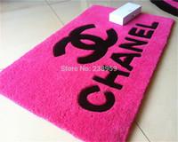 Wholesale rural style Water wash thickening super soft coral fleece carpet bathroom slip resistant mats carpet child cm