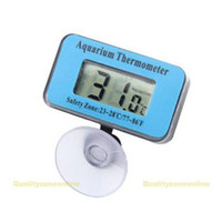 aquarium lcd thermometer - Multi Function Aquarium Fish Tank LCD Digital Submersible Thermometer Pet Supplies