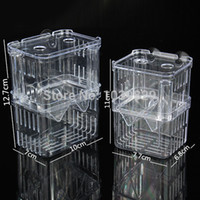 Wholesale New Fish Breeding Aquarium Accessories Incubator Isolation Box Tank Double Layers Young Fish Box
