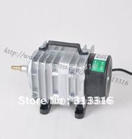Wholesale piece NEW L min W Hailea ACO Electromagnetic Air Compressor aquarium air pump Fish Tank Oxygen AirPump