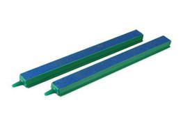 Wholesale cm Fish Tank Parts Plastic Connector Air Bubble Aquarium Air Stone Bar quot Green Blue AE01579