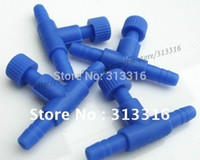 air blue airlines - Free shopping clear straight connectors Blue Plastic Air Control Valve for Aquarium Airline Connector Adjustable