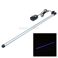 aquarium lightings - LEDs New Arrival Aquarium Blue Tank Light Strip Bar Lamp with Suction Stick Pet Products Fish Aquatic Supplies Lightings C RT