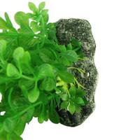 aquarium deals - New quot Green Water Plastic Plant Decoration for Aquarium Fish Tank Water Plant Green Grass Decorations best deal