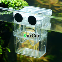 aquarium tanks sizes - S Size Aquarium Fish Tank Isolation Suspension Hatching Box Acrylic Breeding Accessories Boxes Double Layers Young Fish