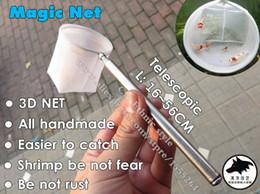 Al por mayor-Nuevo modelo 3D Magic pequeños camarones abeja artesanal red de pesca habiente Buena ejecución neta neta captura el camarón tan fácil + envío gratis desde buena pesca fabricantes