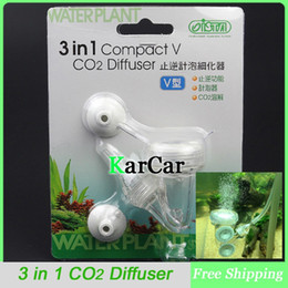 Wholesale in Compact V mm S Aquarium Plants CO2 Diffuser Bubble Counter Check Valve Fish Tank Accessories