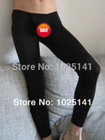 Cheap Wholesale-Fashion Thermal Home cut pouch design body sculpting Lounge Pants sweatpants male trousers Long Johns