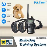 1000m dog shock collar - for dog vibration amp shock collar remote control m electronic dog training collar