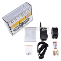 Wholesale LCD LV Level Electric Shock amp Vibra Remote Pet Dog Safe Training Collar