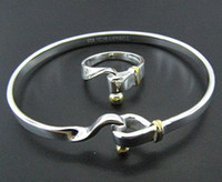Wholesale Inexpensive Silver Rings Bracelet Fashion Jewelry Sets X22