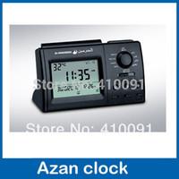 athan clock - islam muslim azan prayer table clock city Azan Clock Athan Adhan Qibla Prayer azan table clock best islamic gifts
