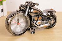 antique furnishings - Alarm Clock Watch Motobile Shape Creative Retro Gifts For Friend Furnishings Boutique