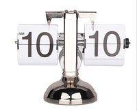 antique balance - Retro Automatic Balance Flip Clock Novelty Desk Table Clocks For Home Decor Novelty Desk Table Clocks