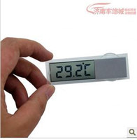 automotive digital thermometer - Car thermometer automotive table transparent lcd suction cup Display Fahrenheit Display Celsius