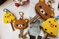 Wholesale Store Special Offer Sentimental Circus Rubber KEY Cover Chain Holder Pendant Hook Key Cap Case Wrap