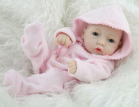 Cheap Wholesale-10 Inches Mini Full Vinyl Buy Reborn Baby Dolls For Girls Lifelike Hobbies Real Looking Baby Dolls Toys For Girl Fashion