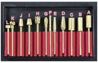 Wholesale Nail Drill Accessories Pro Carbide Bit Set