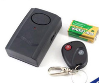 Wholesale 1pcs new Wireless Remote Control Vibration Alarm for Door Window Security alarm system from factory